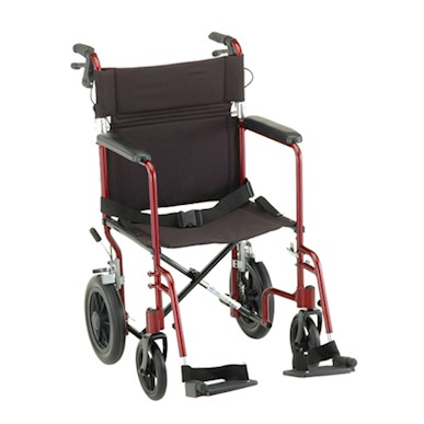 "photo of Nova 330R 20"" Transport Chair with 12"" Rear Wheels MAIN"