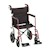 "photo of Nova 330R 20"" Transport Chair with 12"" Rear Wheels SWATCH"
