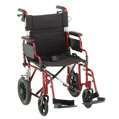 "Wheelchair 19"" Transport/Companion w/Desk Length Arms MAIN"