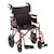 "Wheelchair 19"" Transport/Companion w/Desk Length Arms SWATCH"