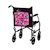 photo of Nova 4008EG English Garden Mobility Bag on back of transport chair SWATCH
