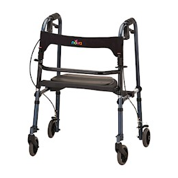 photo of Nova 4010RD & 4010BL Cruiser De-Light Folding Rolling Walker THUMBNAIL