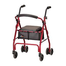 photo of Nova Cruiser Classic Rolling Walker 4200CRD in Red THUMBNAIL
