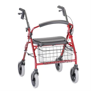Nova Rollator Cruiser Deluxe 4 Wheeled Walker MAIN