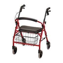 Nova Cruiser Deluxe Junior 4 Wheeled Walker THUMBNAIL