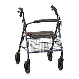 Nova Mack 4 Wheeled Walker, Heavy Duty THUMBNAIL