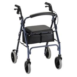 "photo of Nova Zoom 24"" Rolling Walker 4224RD, 4224BL from Mountain View Medical Supply THUMBNAIL"