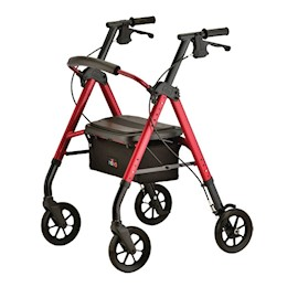 Nova STAR 8 Deluxe Heavy Duty 4 Wheeled Walker THUMBNAIL