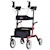 photo of Updated Nova Phoenix Rise UP Rollator 4801 in Red SWATCH