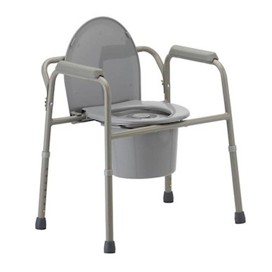 3 in 1 Steel Commode MAIN
