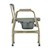 photo of Nova 8583 Heavy Duty Commode with Drop-Arm & Extra Wide Seat side view 3 of 5