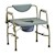 photo of Nova 8583 Heavy Duty Commode with Drop-Arm & Extra Wide Seat 1 of 5
