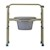 photo of Nova 8700 Folding Commode with lid closed 2 of 5