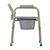 photo of side view of Nova 8700 Folding Commode 3 of 5