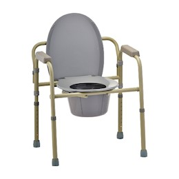 photo of Nova 8700-R Folding Commode THUMBNAIL