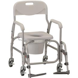 Deluxe Shower Chair & Commode THUMBNAIL
