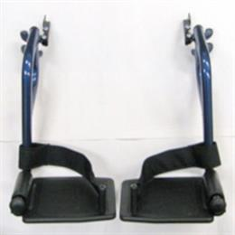 Footrests, Swing Away for Nova 329 Blue, CK-FR104B THUMBNAIL