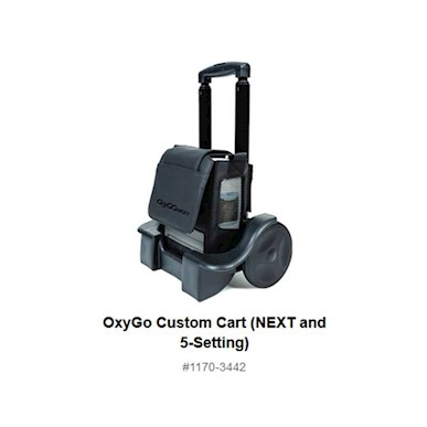 photo of OxyGo 1170-3442 OxyGo NEXT & OxyGo 5-setting cart MAIN