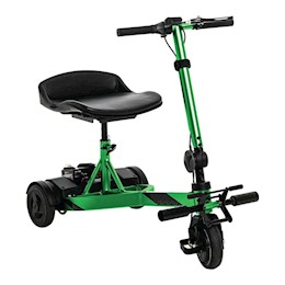 photo of Pride Mobility iRide™ S25 scooter in Lime and Arctic Ice THUMBNAIL