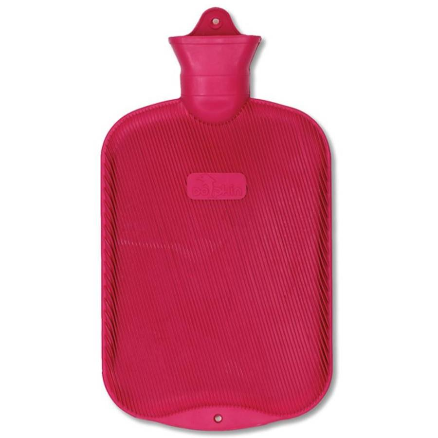 Water Bottle, Red Rubber_THUMBNAIL