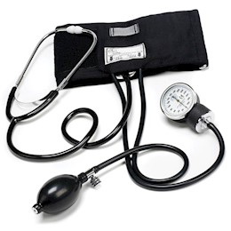 Traditional Aneroid Sphygmomanometer Home Blood Pressure Set THUMBNAIL