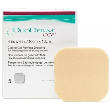 DuoDerm CGF Control Gel Formula dressings MAIN