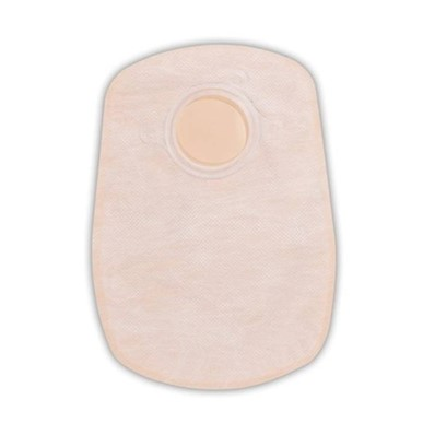photo of closed end Convatec 2 pc ostomy pouch 413174 & 413175 MAIN