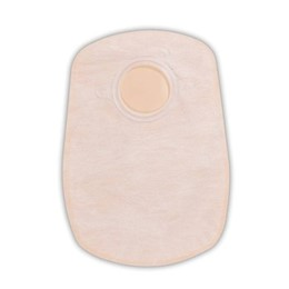 photo of closed end Convatec 2 pc ostomy pouch 413174 & 413175 THUMBNAIL