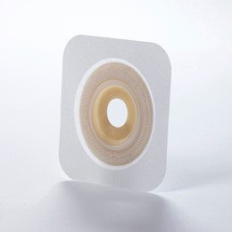 "413177 - 413184 SUR-FIT Natura Durahesive Pre-Cut Skin Barrier, 1 3/4"" Flange, Convex-It, White THUMBNAIL"