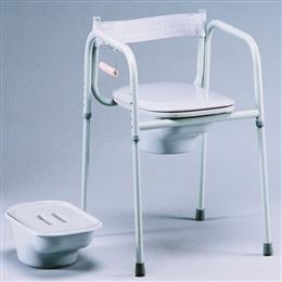 3 in 1 Universal Commode with Elongated Seat THUMBNAIL