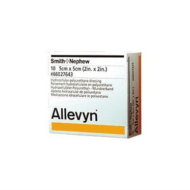 "Allevyn Non-Adherent Dressing, 2""x2"" MAIN"