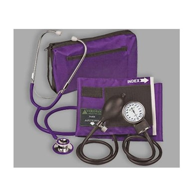 Sterling ProKit Adjustable Aneroid Sphygmomanometer with Sprague Stethoscope MAIN