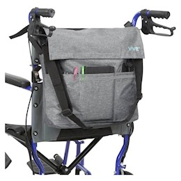 photo of Vive Wheelchair Bag in gray THUMBNAIL