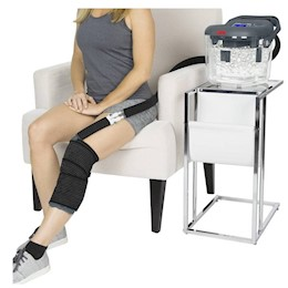 photo of Vive Health Ice Therapy Machine in Use THUMBNAIL