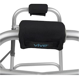 photo of Vive Health Walker Grip Pads on Walker THUMBNAIL