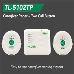 Caregiver Pager - Two Call Button THUMBNAIL