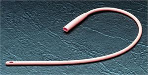 Red Rubber, X-Ray Opaque Catheter, 18FR, RU118 THUMBNAIL