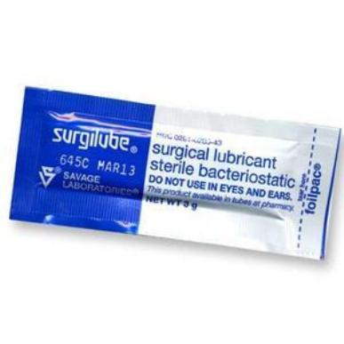 Lubricant, Fougera Surgilube, 3gr packets MAIN