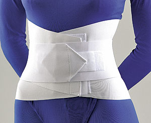 "Lumbar Sacral Support with Overlapping Abdominal Belt 10""_MAIN"
