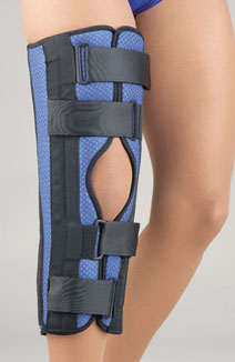 Breathable Universal Tri-Panel Foam Knee Immobilizer MAIN