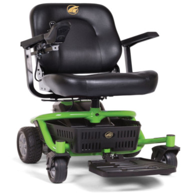 LiteRider Envy Power Wheelchair in Envy Green with Premium Seat Option MAIN