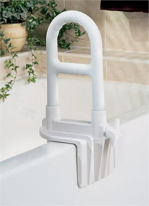 Tub Grab Bar, Dual Level, White