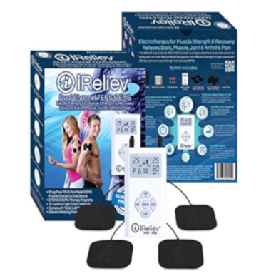 TENS, iReliev® TENS and EMS Pain Relief & Muscle Stimulator_MAIN