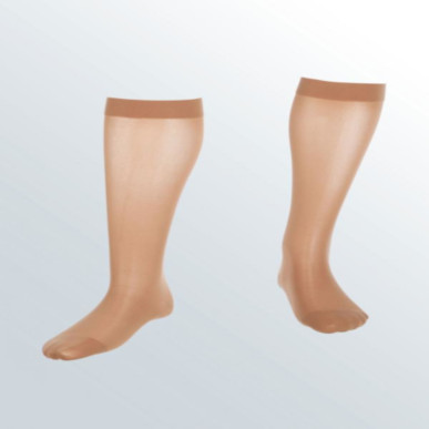 Compression Sock, Assure, Unisex Knee High, Closed Toe, 20-30 mmHg