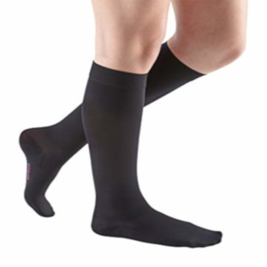 Compression Sock, Comfort, Unisex Knee High Petite, Closed Toe, 20-30 mmHg MAIN