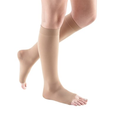 Compression Sock, Comfort, Unisex Knee High, Open Toe, 20-30 mmHg_MAIN