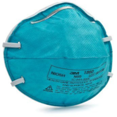 3M N95 Health Care Particulate Respirator and Surgical Mask, 1860 MAIN