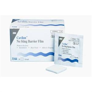 3M Cavilon No Sting Barrier Film Wipes