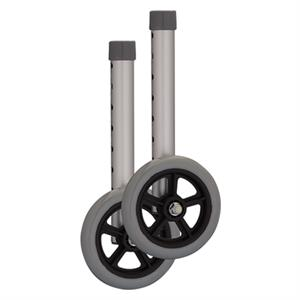 5 Inch Nova Youth Walker Wheels & Glidecap Set
