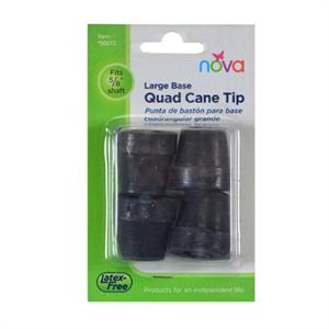 Cane Tips for quad cane, Large Base